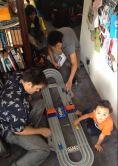 Hot Wheels Race Track from Tito Danny, Tita Ging + Quincy