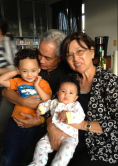 Lolo + Lola with me + Quincy