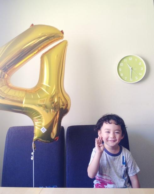 Cedro's 4th Birthday